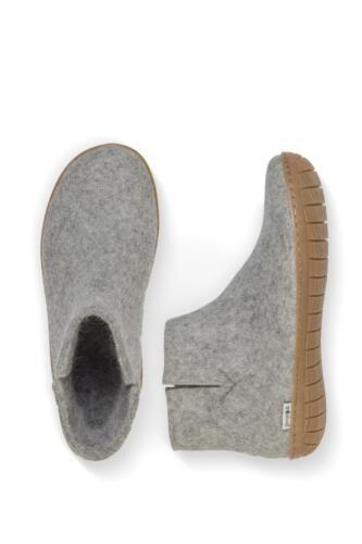 Glerups støvle i filt til dame/herre - gummisål  - Pris: 700,-