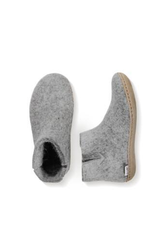 Glerups støvle i filt til dame/herre - lædersål  - Pris: 600,-